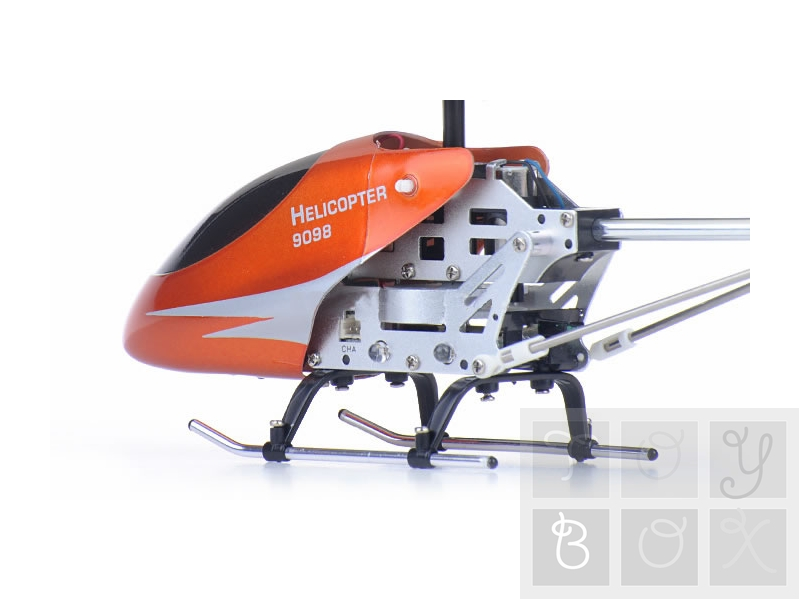 Mini Elicopter cu giroscop, 3 Canale, Model 9098