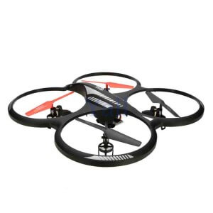 Quadrocopter cu camera