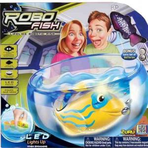 Set Robofish LED cu acvariu