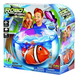 Set Robo Fish Tropical cu acvariu